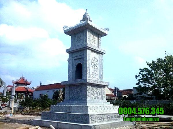 Mẫy mộ tháp bằng đá đẹp