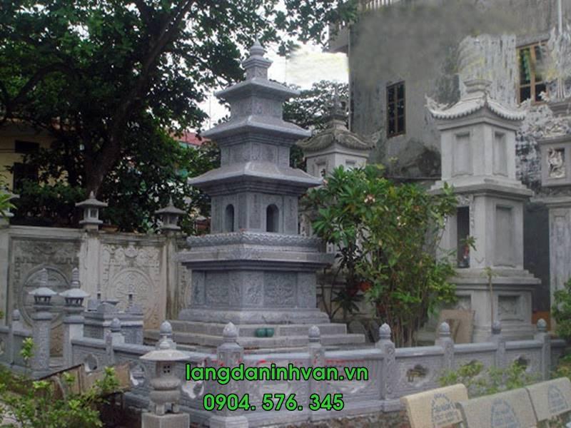 mộ tháp được lắp tại sài gòn 007