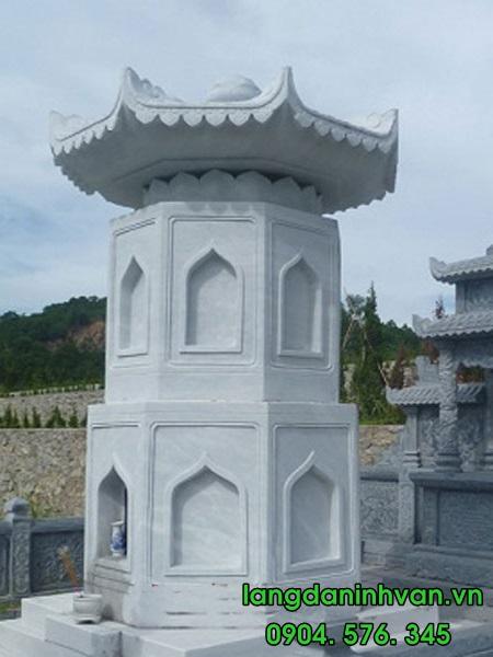 mộ phật giáo bằng đá đẹp 008