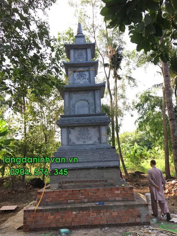 lắp đặt mộ tháp 6 tầng tại hậu giang