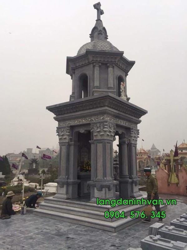 tháp đá đẹp theo phong cách châu âu 027