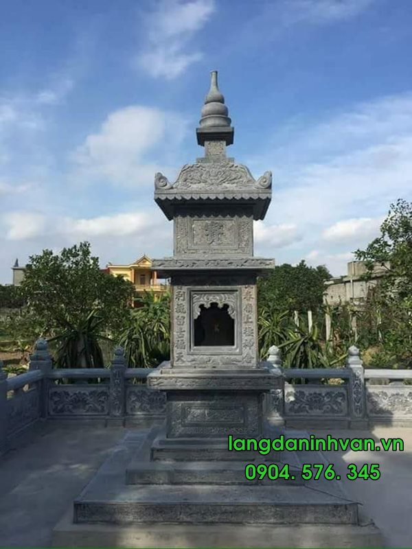 mẫu mộ tháp đựng tro cốt được lắp tại sài gòn 043
