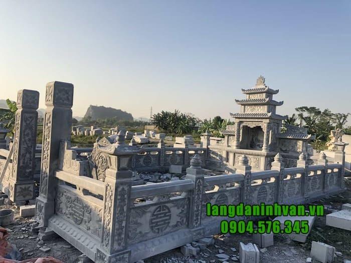 Địa chỉ thiết kế khu lăng mộ đá uy tín tại Ninh Bình