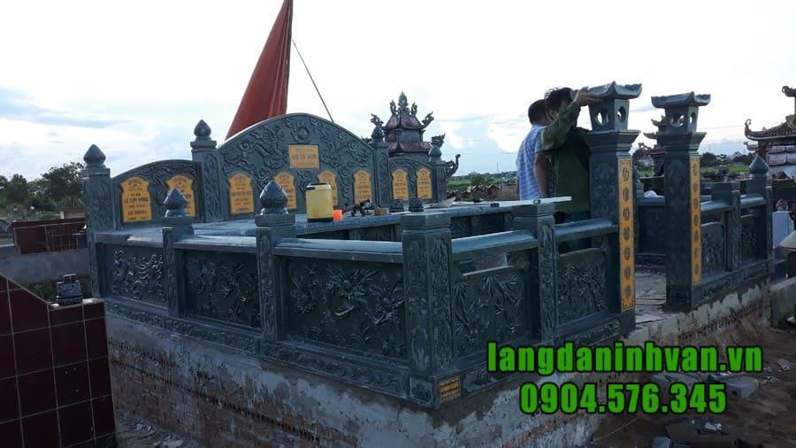 Báo giá lăng mộ đá đẹp Ninh Bình năm 2020