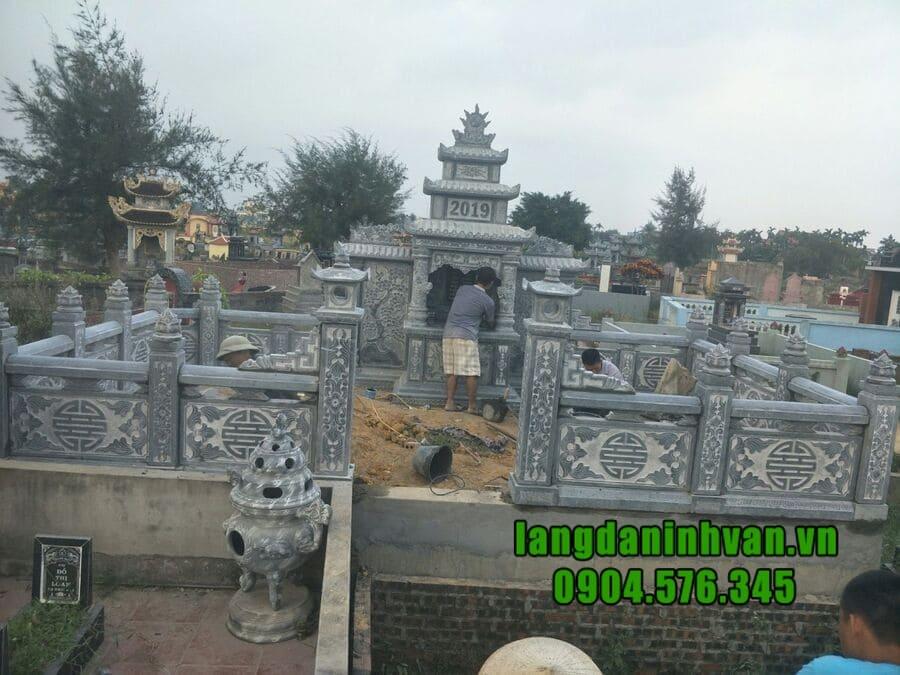 Bảng báo giá khu lăng mộ đá tại Ninh Bình