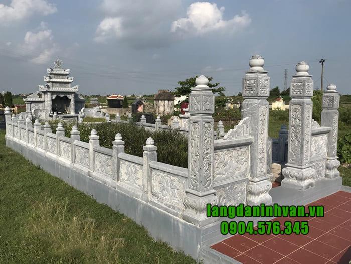 Cơ sở thi công lăng mộ đá đẹp tại Ninh Bình