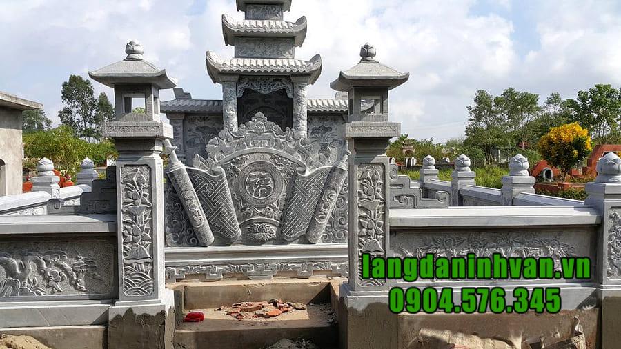 Giá khu lăng mộ đá tại Ninh Vân