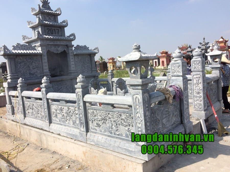 Giá thành lăng mộ đá tại Ninh Bình