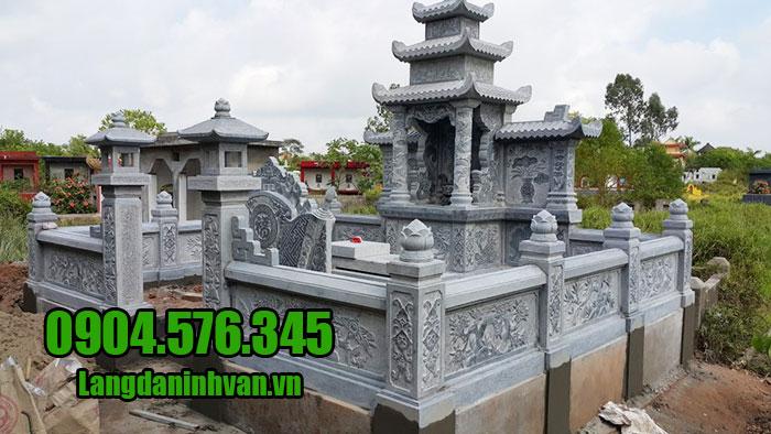 Giá thành sản xuất lăng mộ đá Ninh Bình