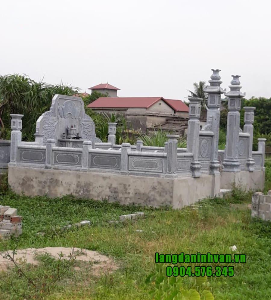 Hình ảnh lăng mộ đá dòng họ đẹp