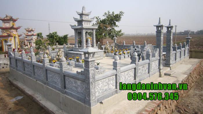 Khu lăng mộ đá được thiết kế đẹp nhất Ninh Bình