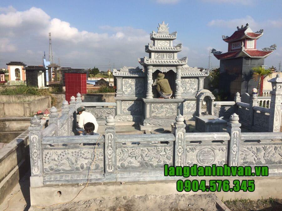 Khu lăng mộ đá đẹp Ninh Bình