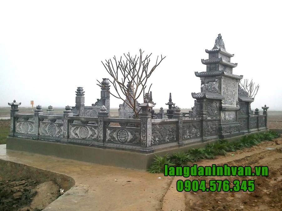 Lăng mộ đá đẹp tại Ninh Vân - Ninh Bình