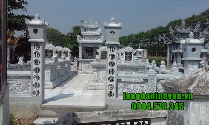 Lăng mộ đá đẹp tại Ninh Bình