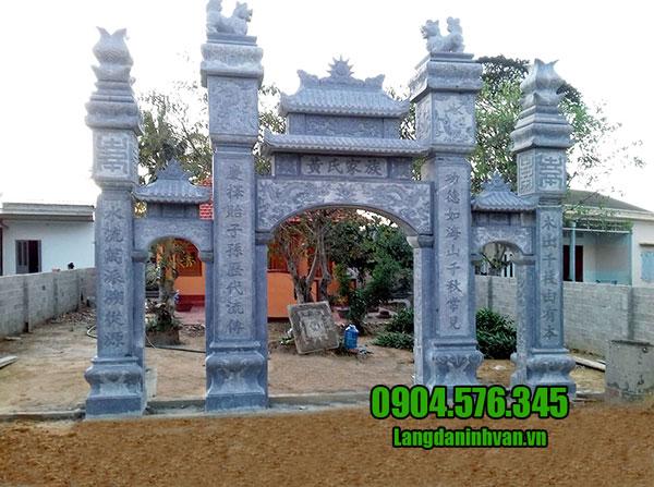 Mẫu cổng nhà thờ tộc đẹp nhất