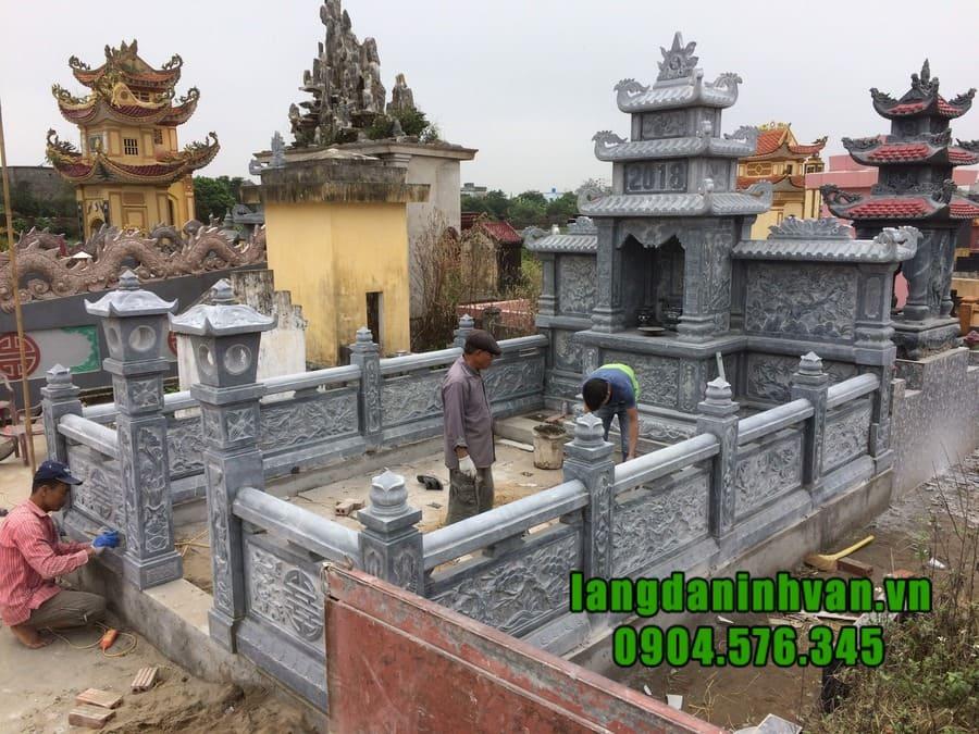 Mẫu lăng mộ đá đẹp tại Ninh Bình