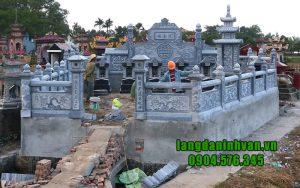 Thi công lăng mộ đá đẹp Ninh Bình