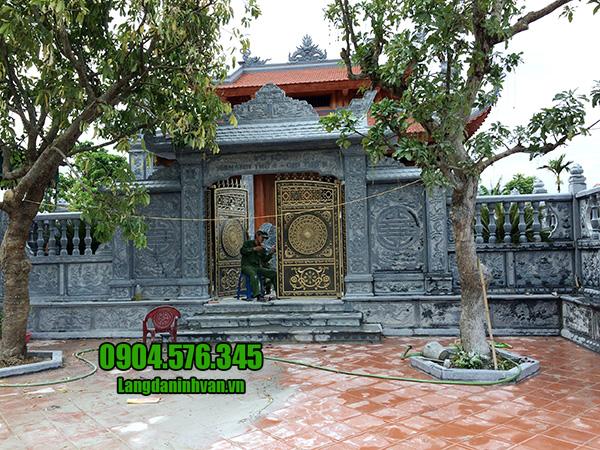 cổng nhà thờ họ đẹp bằng đá
