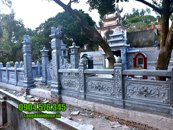 lăng mộ bằng đá xanh đẹp