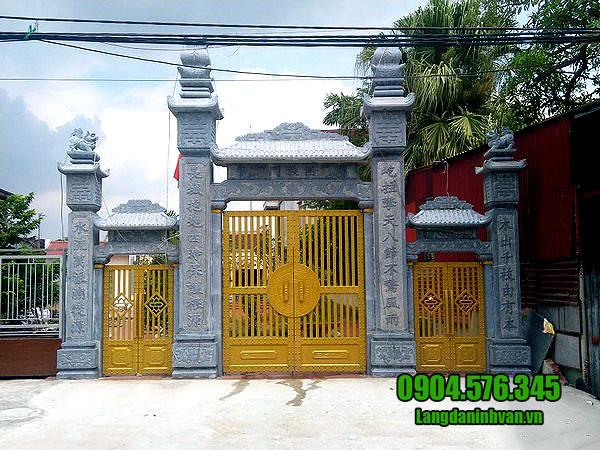 10 Hình ảnh mẫu cổng đá nhà thờ họ đẹp nhất được khách hàng lựa chọn