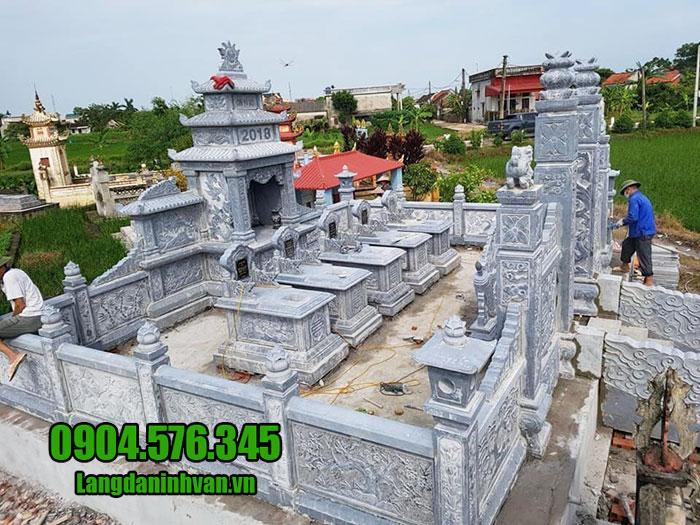 thiết kế khu lăng mộ đá đẹp ninh bình chất lượng