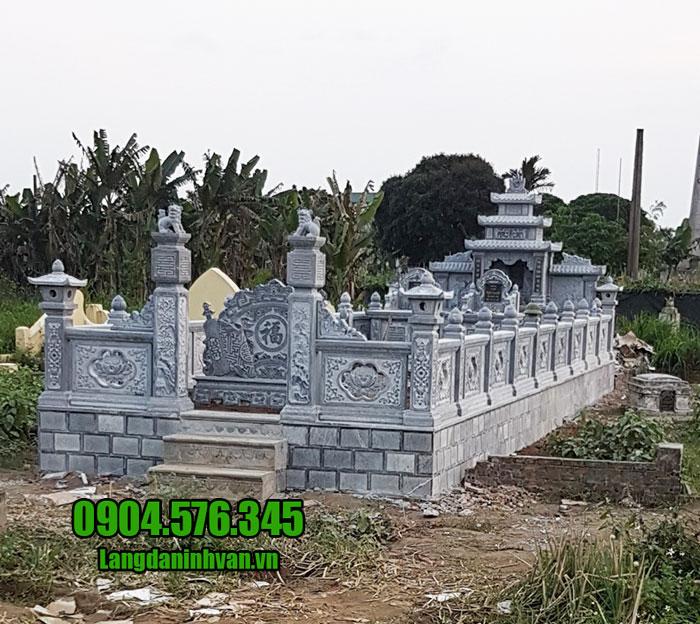 thiết kế khu lăng mộ đá ninh bình đẹp nhất