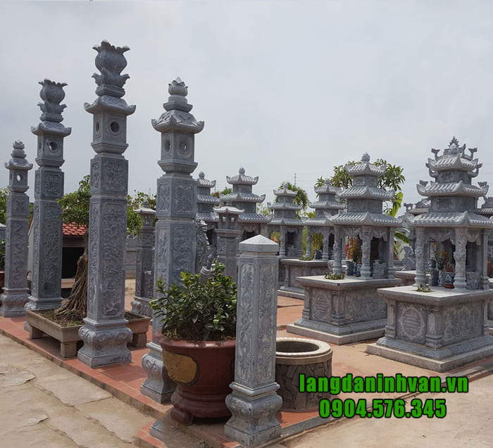 Địa chỉ lắp đặt lăng mộ đá uy tín tại Ninh Bình