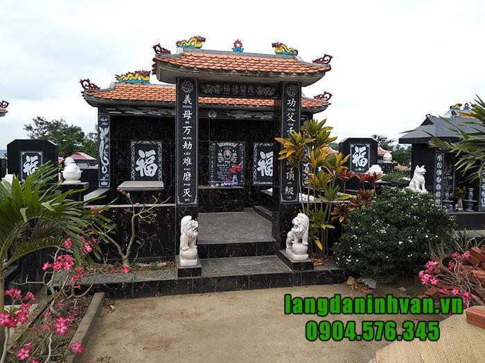 Giá lăng mộ đá hoa cương tại Ninh Bình