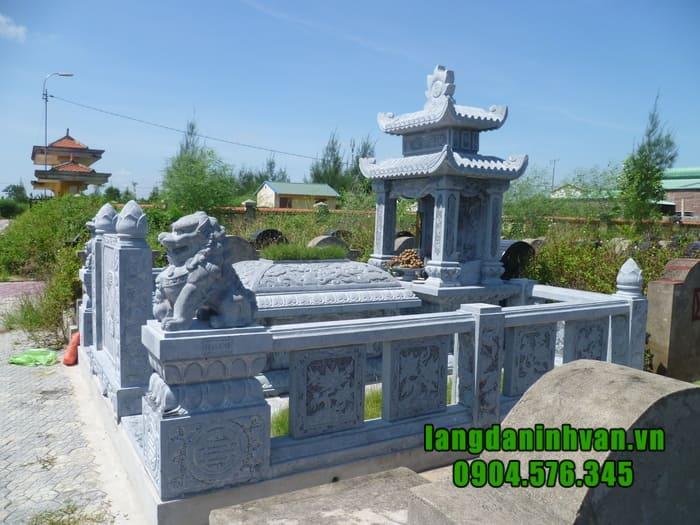 Lắp đặt lăng mộ đá đẹp nhất Ninh Bình