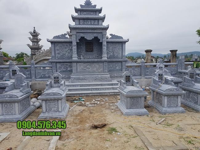 lăng mộ đá đẹp của cơ sở đá mỹ nghệ Ninh Vân