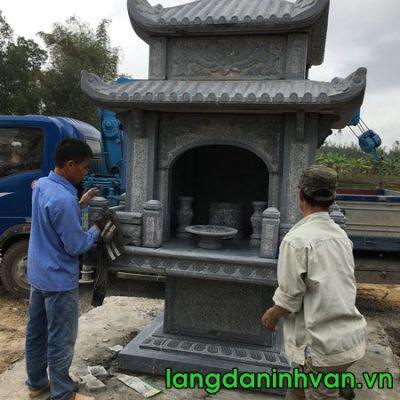 lắp đặt bàn thờ thiên - cây hương bằng đá đẹp tại vân đồn Quảng Ninh