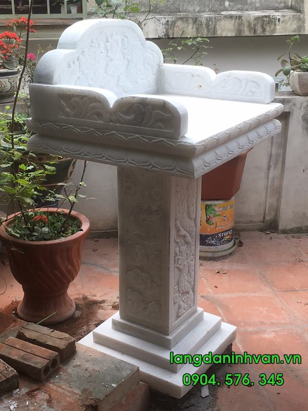 mẫu bàn thờ thiên đá đẹp