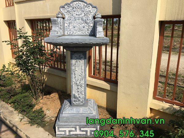 mẫu bàn thờ thiên đá không mái tại nghệ an