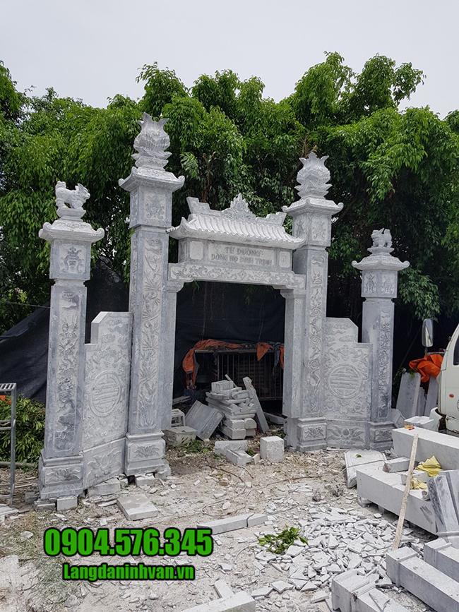 mẫu cổng nhà thờ bằng đá đẹp nhất