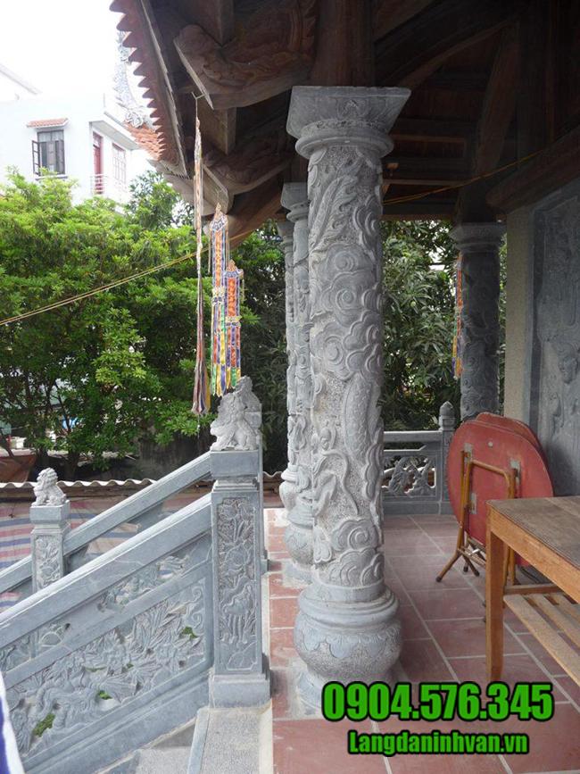 mẫu cột đá nhà thờ đẹp
