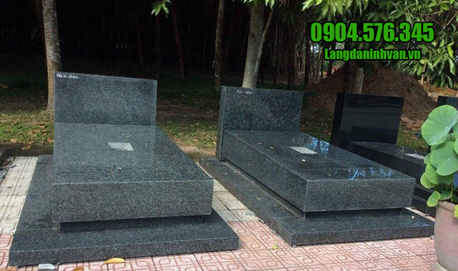 mẫu mộ đá granite đẹp