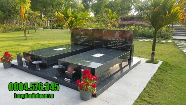 mẫu mộ đôi đá granite đẹp nhất