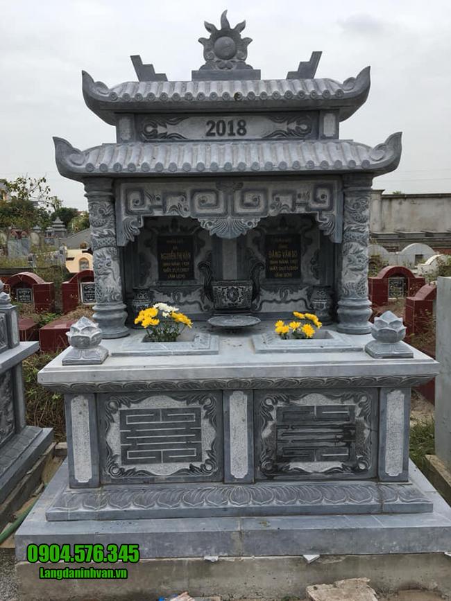 mẫu mộ đôi ba mái