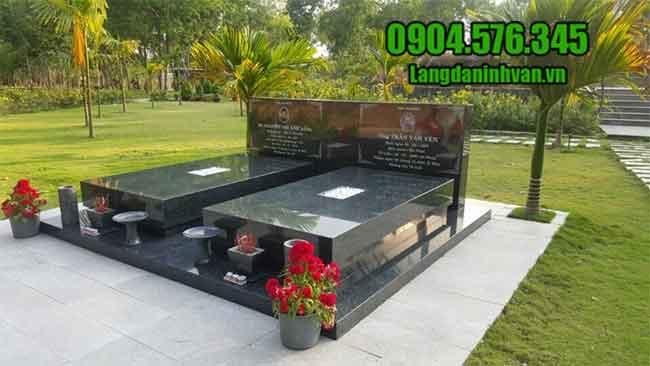 mộ bằng đá hoa cương đẹp nhất