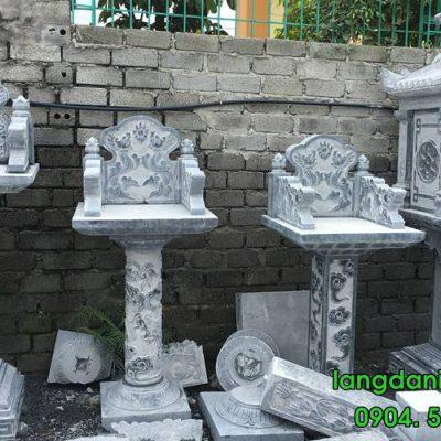Mẫu bàn thờ thiên đẹp đơn giản bằng đá tự nhiên