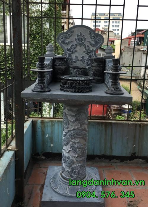 ban thờ thân linh bằng đá tự nhiên lắp đặt tại hà nội