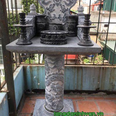 Mẫu cây hương đá không mái đẹp lắp đặt tại Hà Nội