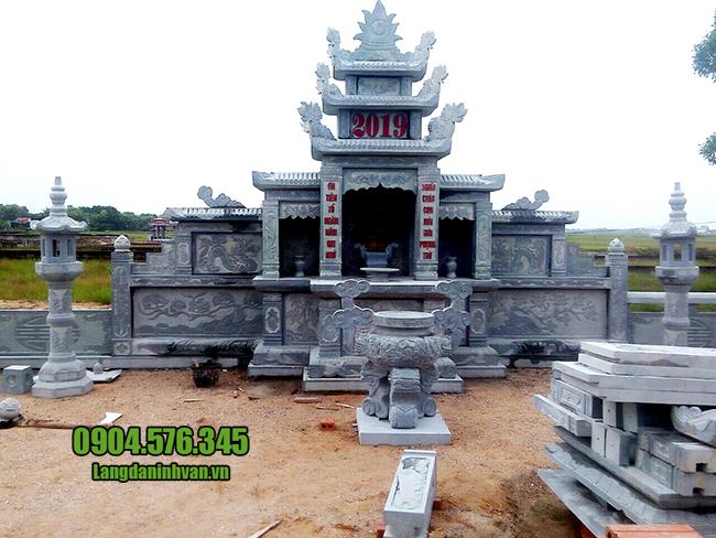 sản xuất lăng mộ bằng đá