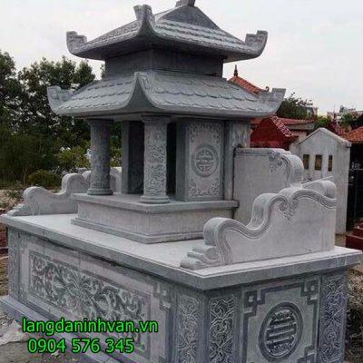 lăng mộ bằng đá tự nhiên với mẫu mã hiện đại