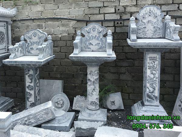 mẫu bàn thờ thiên bằng đá đẹp đơn giản