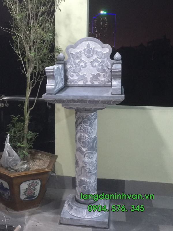 Am thờ đá lắp đặt tại Hà Nội