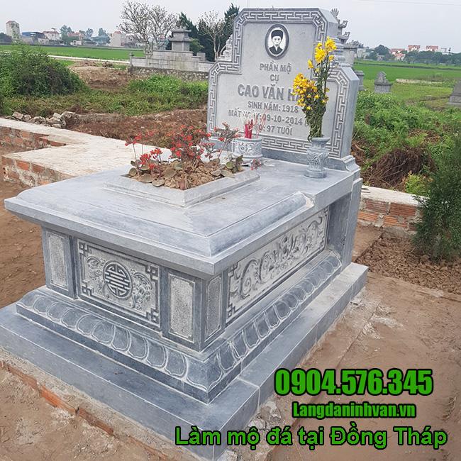 Làm mộ đá tại Đồng Tháp