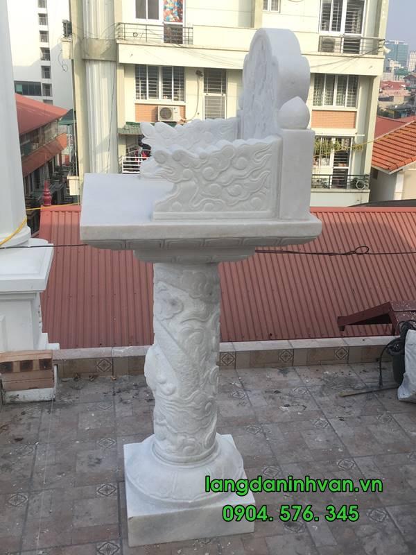 cây hương đá trắng lắp đặt tại hà nội