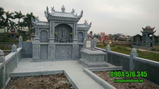 lăng mộ đơn giản đẹp