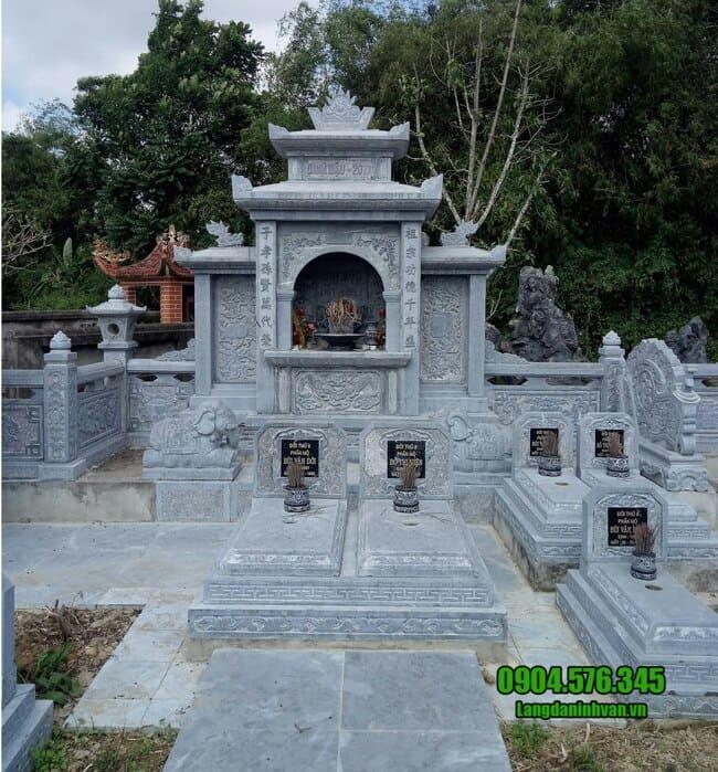 mầu lăng mộ đơn giản đẹp nhất